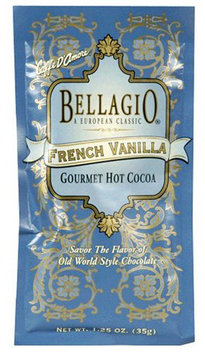 Bellagio Hot Cocoa, French Vanilla, 1.25 oz, 25 ct
