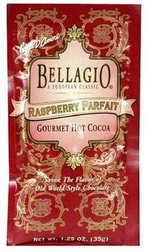 Bellagio Hot Cocoa, Raspberry Parfait, 1.25 oz, 25 ct