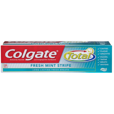 Colgate Total Fresh Mint Strip Gel Toothpaste