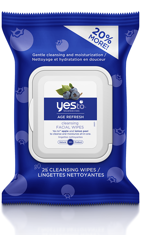 Yes To Blueberries Cleansing Facial Wipes