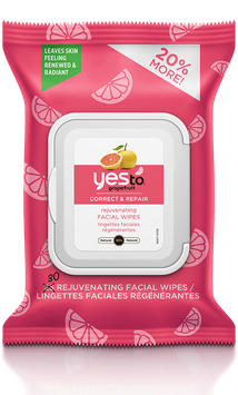 Yes To Grapefruit Brightening Facial Wipes