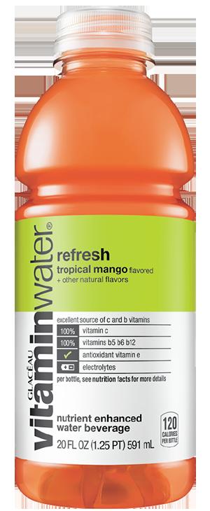 Vitaminwater Refresh Tropical Mango Reviews 2019