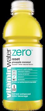 vitaminwater Zero Reset Pineapple Coconut Nutrient Enhanced Water Beverage