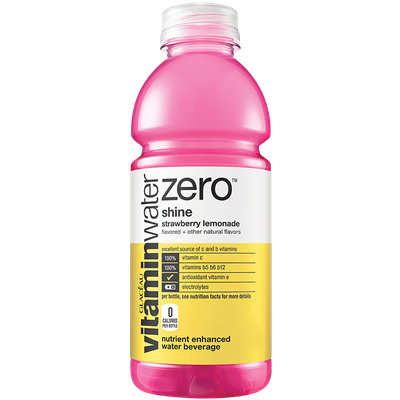 vitaminwater Zero Shine Strawberry Lemonade