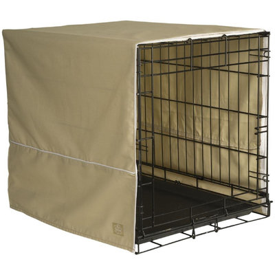 Pet Dreams Khaki Classic Crate Cover Medium