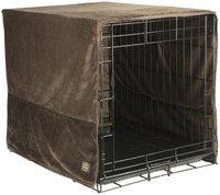 Pet Dreams Coco Plush Crate Cover Medium