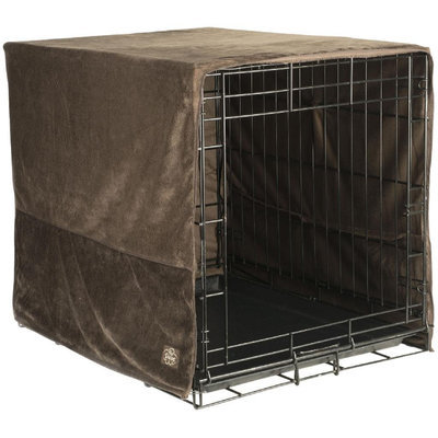 Pet Dreams Coco Plush Crate Cover Medium