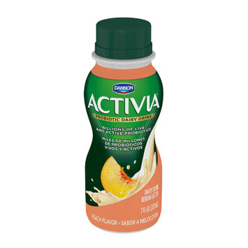 Activia® Peach Probiotic Drink