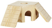 Penn Plax Penn-Plax Corner Maze - Wood Toy