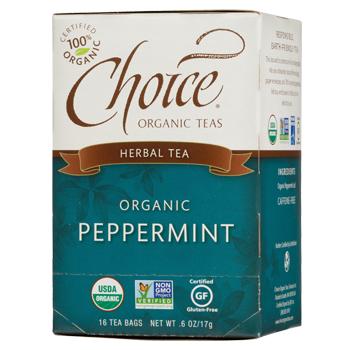 Choice Organic Teas Peppermint Herbal Tea