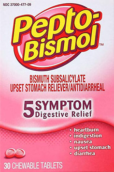 Pepto-Bismol Original Chewable Tablets