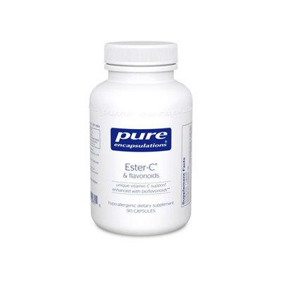 Pure Encapsulations Ester-C & Flavonoids 90 vcaps
