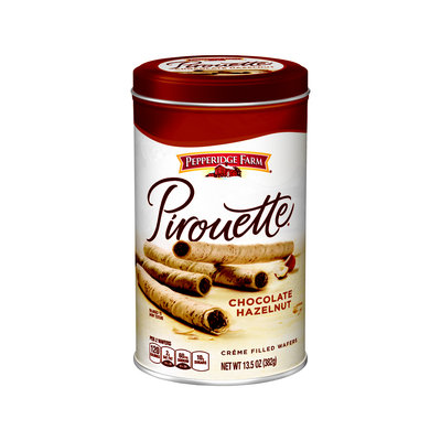 Pepperidge Farm® Chocolate Hazelnut Creme Filled Pirouette Rolled Wafers