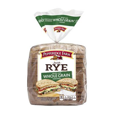 Pepperidge Farm® Jewish Rye Bread Whole Grain Rye Seeded