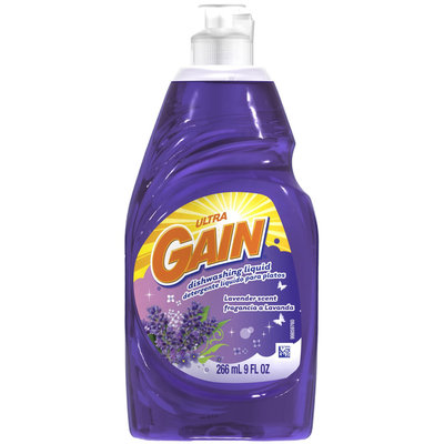 Gain Ultra Lavender Dishwashing Liquid 9 Fl Oz