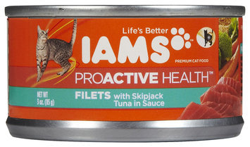 Iams Adult Filets with Tuna in Sauce Canned Cat Food