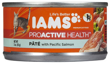 Iams Adult Pate with Savory Salmon Canned Cat Food