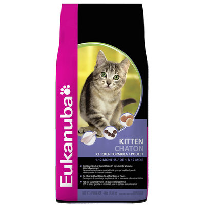 Eukanuba Kitten Chicken Formula Dry Cat Food