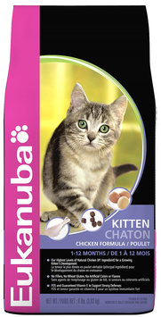 Eukanuba Kitten Dry Cat Food Chicken 8lb
