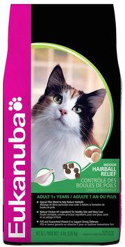 Eukanuba Indoor Hairball Relief Dry Cat Food 8lb