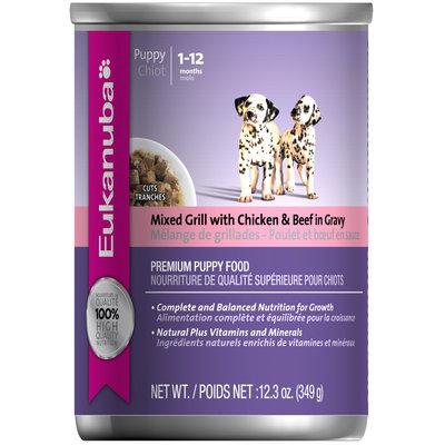 Super-dog Pet Food Company Eukanuba Puppy Cuts Canned Dog Food 12 Pack