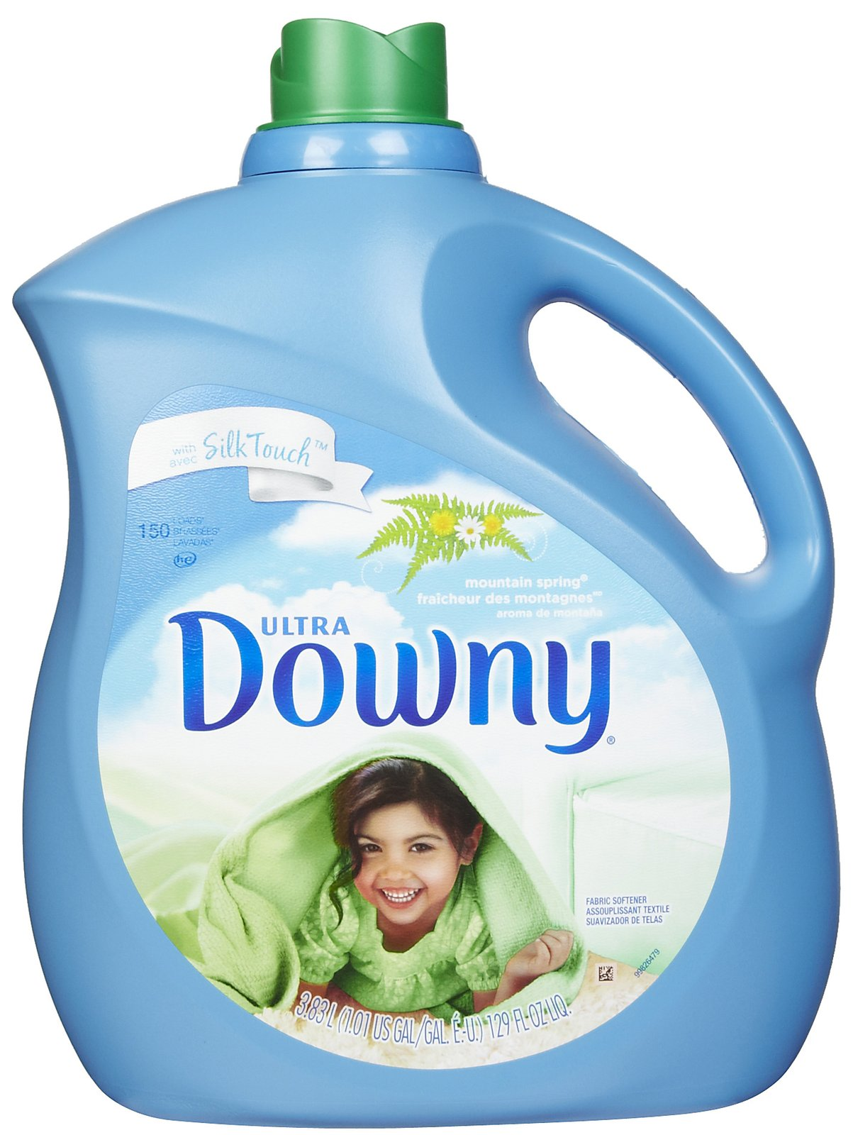 Downy Ultra Liquid Fabric Softener, Mountain Spring