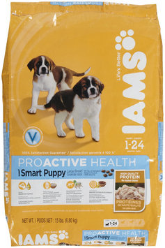 Iams ProActive Health Smart Puppy Large Breed Formula Dry Dog Food