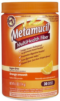 Metamucil Sugar-Free Original Fiber Powder, 30 Doses