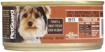 PetGuard Turkey & Sweet Potato in Gravy Dinner - All Stage