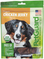 PetGuard Organic Chicken Jerky - 3oz
