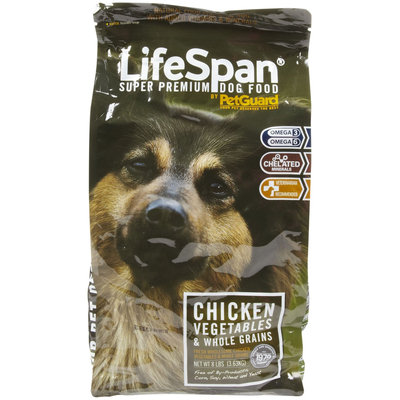 PetGuard LifeSpan Dry Dog - Fresh Chicken