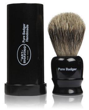 The Art of Shaving Black Travel Pure Brush