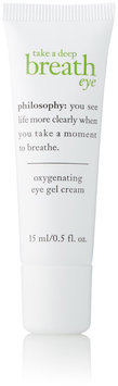 philosophy take a deep breath eye oxygenating eye gel cream