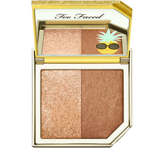 Too Faced Pineapple Paradise Strobing Bronzer Highlighting Duo