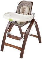 Babies R Us Summer Infant Bentwood Highchair - Grey Chevron Leaf