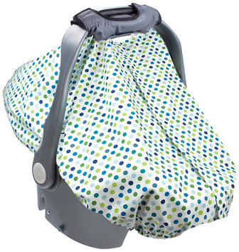 Summer Infant Carry and Cover Infant Car Seat Cover - Dots - 1 ct.