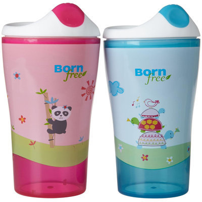 Sippy Cup, 2-Pack, Girl, 10 oz, BornFree (Born Free) Baby Bottle