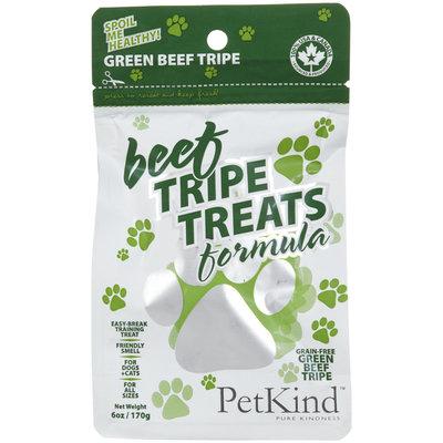 PetKind Dog Treats Green Beef Tripe 6 oz