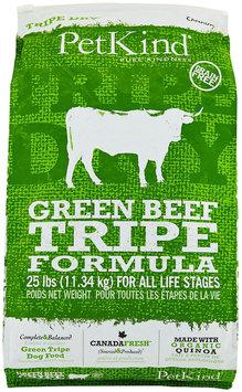 PetKind Green Beef Tripe Dry Dog Food 25 lb