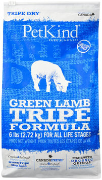 PetKind Green Lamb Tripe Dry Dog Food 6 lb