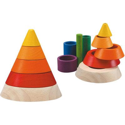 Plan Toys Cone Sorting (9 pcs)
