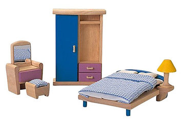 Plan Toys 7309 Wooden Toy Bedr