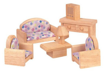 PlanToys Dollhouse Living Room - Classic Style - 1 ct.