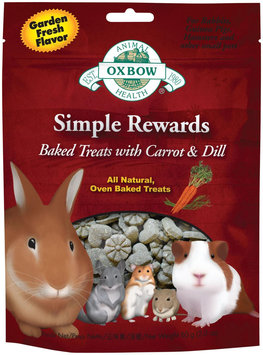 Oxbow Simple Rewards Baked Treats - Carrot & Dill