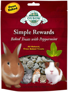 Oxbow Simple Rewards Baked Treats - Peppermint