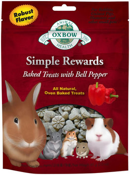 Oxbow Simple Rewards Baked Treats - Bell Pepper