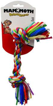 Mammoth Flossy Chews Cloth Rope Bone - Multicolor