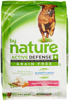 By Nature Active Defense Grain Free Ocean Whitefish and Green Peas
