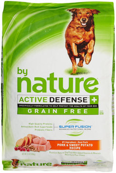 By Nature Active Defense Grain Free Pork and Sweet Potato Recipe Dry