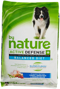 By Nature Active Defense Turkey with Green Peas and Herring Dry Dog